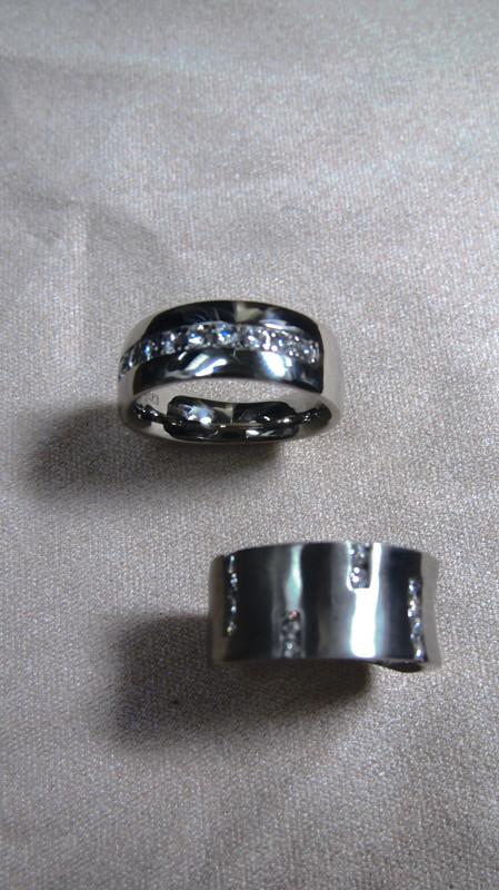 めずらしいプラチナ1000のリング