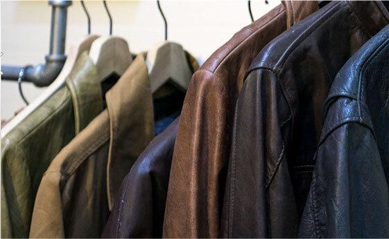 レザー衣料(皮革)20%割引セール